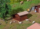 Faller 130183 Sheep Barnhouse