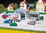 Faller 130296 Filling station and Car wash