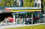 Faller 130346 Covered petrol pumps