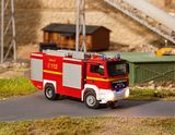 Faller 161306 Car System Digital 3 0 MAN TGX TLF Fire engine