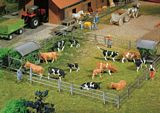 Faller 180434 Fence systems for stalls and open stable farm