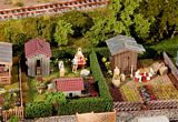 Faller 180494 two allotments with sheds