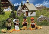 Faller 180560 Straw bale figures
