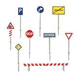 Faller 272450 Set of traffic signs