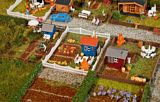 Faller 272551 Allotment garden set 2