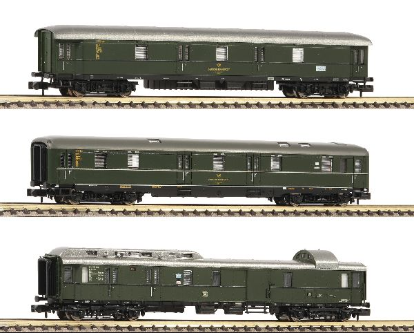 Fleischmann 814509 3 Piece Set Mail Train DB