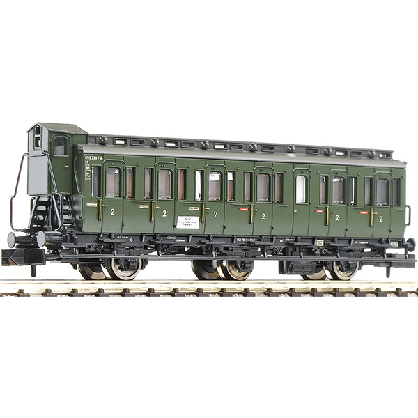 Fleischmann 807001 3-axle compartment coach with brakemans cab type C3 pr 11 DB