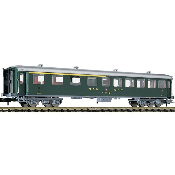 Fleischmann 813804 1st-2nd class express train passenger coach type AB SBB