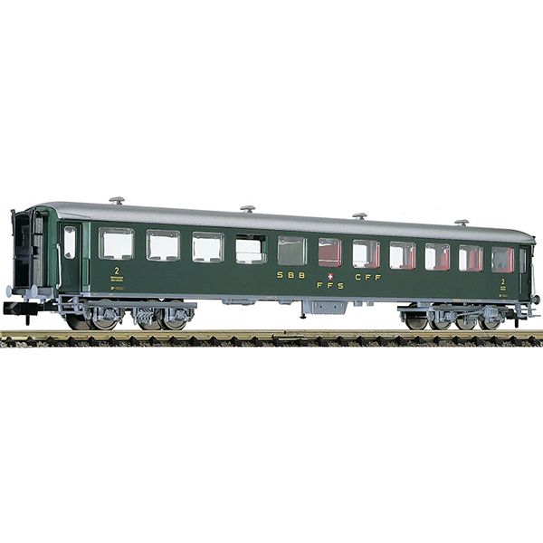 Fleischmann 813908 2nd class express train passenger coach type B SBB