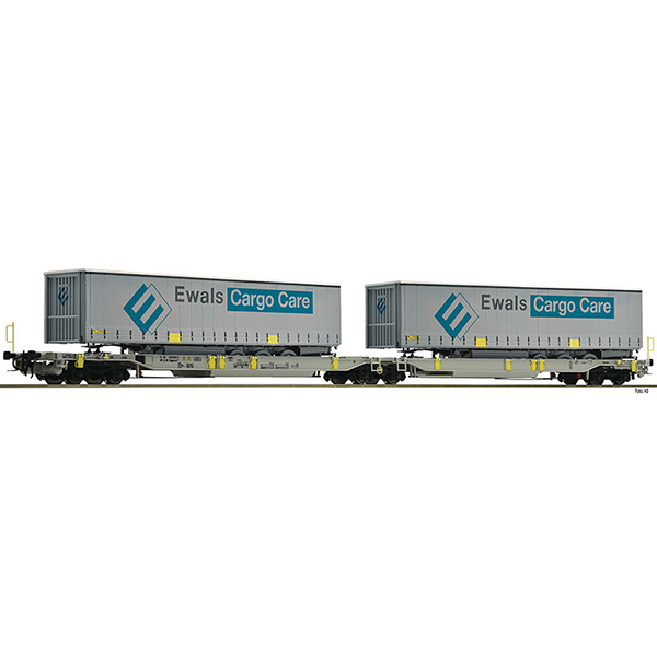 Fleischmann 825008 Articulated double pocket wagon T2000 AAE