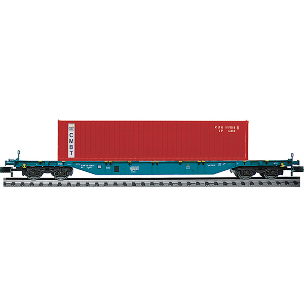 Fleischmann 825212 Container carrier wagon CMBT