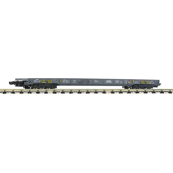 Fleischmann 827107 8-axle low-floor wagon for the transportation of lorries and semitrailers HUPAC CH