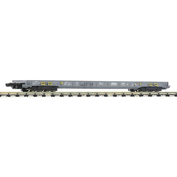 Fleischmann 827108 8-axle low-floor wagon for the transportation of lorries and semitrailers HUPAC CH