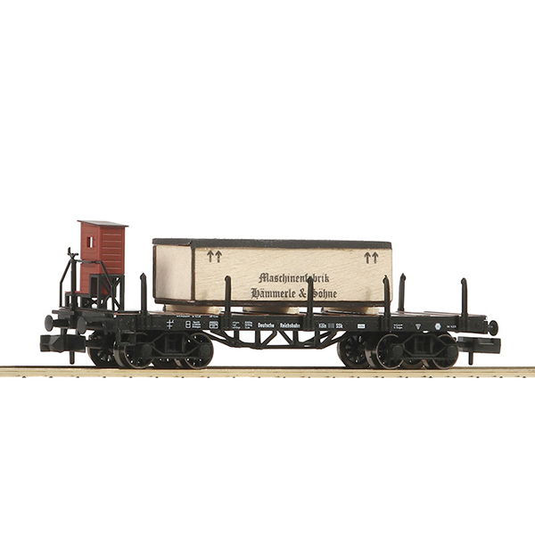 Fleischmann 828506 Stanchion wagon with brakemans cab type SSk Koln DRG