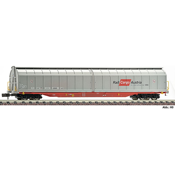 Fleischmann 838314 High capacity sliding wall wagon type Habbillns OBB RCA
