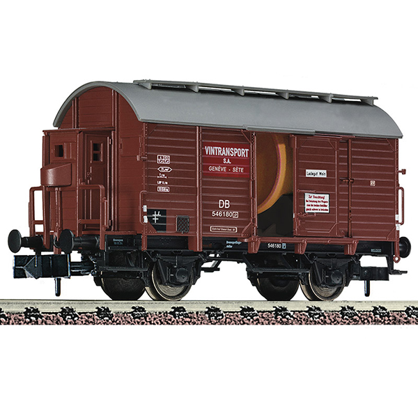 Fleischmann 845710 Wine barrel tank wagon with brakemans cab DB