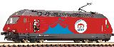 Fleischmann 731571 Electric Locomotive 460 058-1 Circus Knie SBB