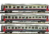 Fleischmann 814508 3 Piece Set Eurofima Coaches SNCB