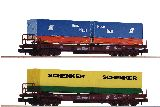 Fleischmann 845376 2 Pcs Set Standard Pocket Wagon OBB