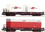 Fleischmann 845377 2 Pcs Set Standard Pocket Wagon OBB