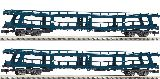 Fleischmann 881913 2 Piece Set 3 Auto-train Christophorus DB