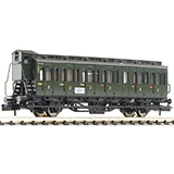 Fleischmann 807101 2nd class compartment coach with brakemans cab type C pr 21 DB
