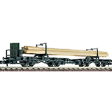 Fleischmann 822301 Swivelling bolster wagon combination type H K Bay Sts B