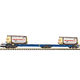Fleischmann 825338 Double container carrier wagon type Sggmrs ERR