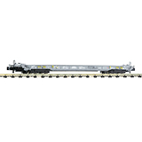 Fleischmann 827008 8-axle low-floor wagon for the transportation of lorries and semitrailers HUPAC CH