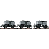 Fleischmann 841601 3-piece set tank wagons type Z DR