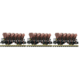 Fleischmann 845104 3-piece set dump wagons type F-z 120 DB