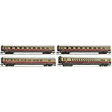 Fleischmann 881905 4-piece set passenger carriages TEE 22-23 Van Beethoven DB