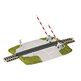 Fleischmann 9198 Level crossing with lifting gates