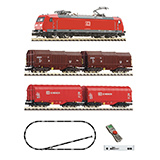 Fleischmann 931885 z21 start Digital starter set with electric locomotive class 185 1 and goods train