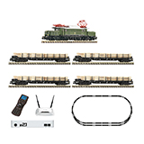 Fleischmann 931886 z21 Digital starter set electric locomotive class 194 with goods train