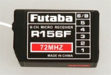 Futuba TL0641 R156F 6-Ch FM 72MHz Micro Receiver without Short XTL