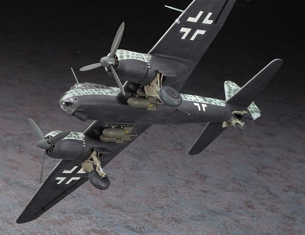 Hasegawa 02016 1-72 Junkers JU88S-1-3 KG66 Limited Edition