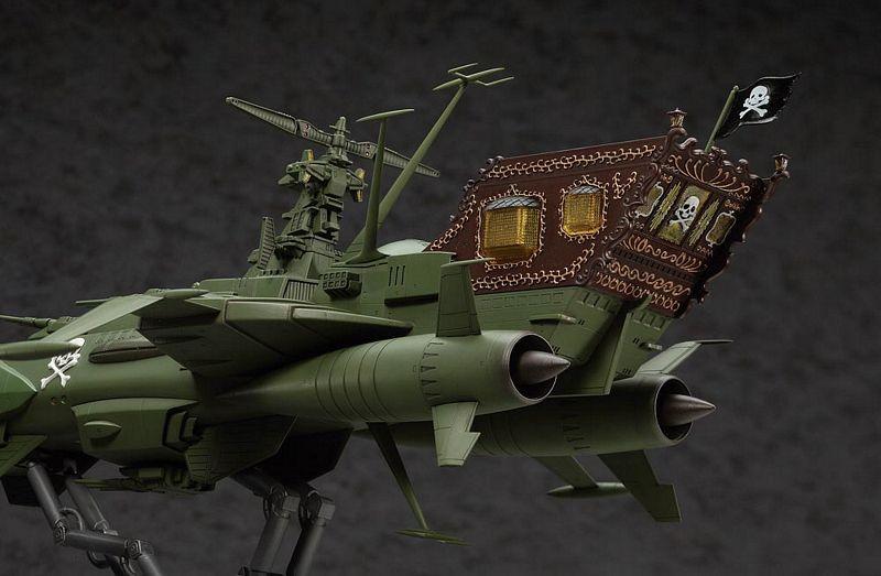 Hasegawa CW05 Battleship ARCADIA Captain Harlock 1//1500 scale kit 4967834645059