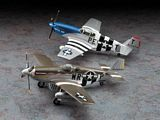 Hasegawa 02054 P-51B Mustang D-Day Combo Limited