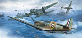 Hasegawa 02270 Spitfire Mk1 and Bf109E and He11P/H