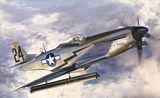 Hasegawa 08244 P51D Mustang with Rocket Tubes