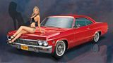 Hasegawa 52202 1966 American Coupe Type I with Blond Girls Figure