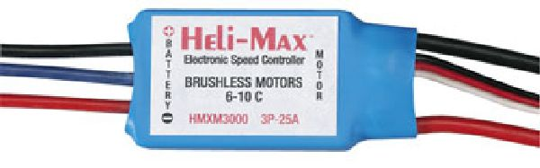 Heli-Max 3000 MX 400 BRUSHLEss ESC 25A