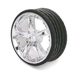 Imex 7965 1-10 Tire and Rim Set H 4