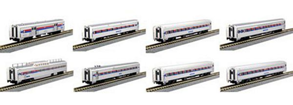 Kato 106081 Amtrak Southwest Limited 8-Car Passenger Set