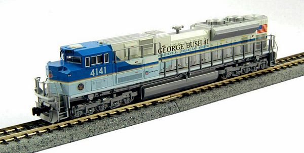 Kato 1768411 Standard DC UP George Bush Diesel Locomotive