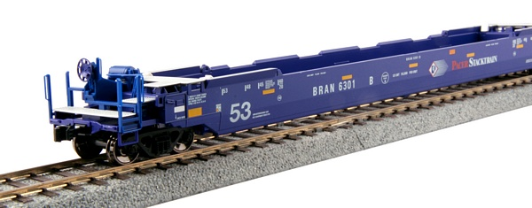 Kato 309048 Gunderson Maxi IV Well Car Pacer Stacktrain