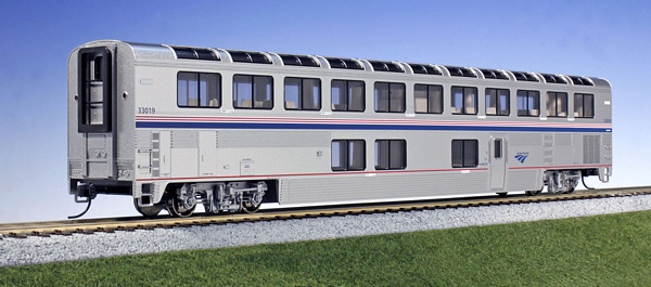 Kato 356063 Superliner Coach Amtrak Phase IVb