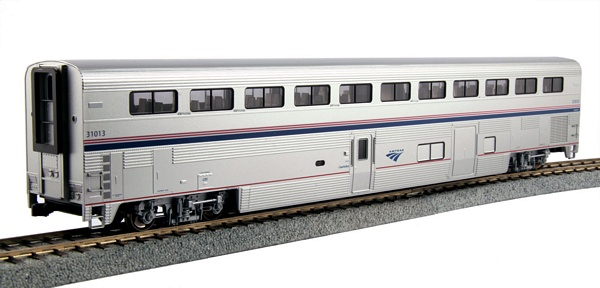 Kato 356092 Superliner Coach Baggage Amtrak Phase IVb