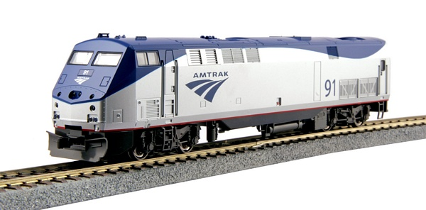 Kato 376108 GE P42 Genesis Amtrak Phase Vb